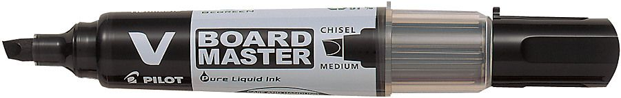4902505355868 schwarz Keilspitze PILOT Whiteboard-Marker V BOARD MASTER